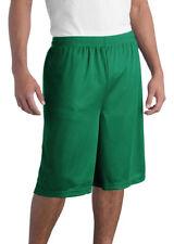 Sport-Tek Extra Long Dri-Fit Mesh Shorts Workout Running Basketball Xs-3Xl St511