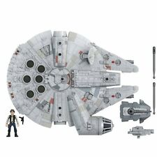 Star Wars Mission Fleet Millennium Falcon Vehicle with 2.5-Inch Han Solo Figure
