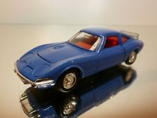 DINKY TOYS  1421 OPEL GT 1900 - BLUE 1:43 - VERY GOOD CONDITION