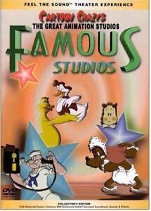 GREAT ANIMATION STUDIOS - FAMOUS / FLEISCHER STUDIOS (DVD) Vintage Cartoons