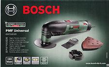 Bosch Pmf Universal exclusive 190W in valigetta multifunzione con accessori