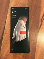 Nike Tour Golf Handschuh | left hand / linkshänder | weiß/rot | Gr. XL | NEU