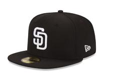 Сан-Диего Падрес новой эры черно-белый бейсбол, главная лига 59 Fifty регулируемая кепка ретро