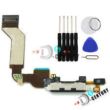 OEM iPhone 4S Charging Dock Port USB Connector Flex Ribbon Cable USA Black +Tool