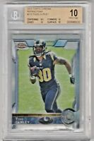 Todd Gurley PRISTINE!! BGS 10 2015 Topps Chrome Refractors Rookie RC 110