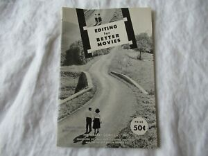 Kalart 8mm Film Movie Editing for better movies brochure booklet