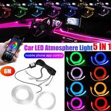Auto PKW LED Ambientebeleuchtung Innenraumbeleuchtung Lichtleiste App 16.7FT DE