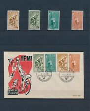 XC46023 IFNI 1958 cycling sports basketball FDC used