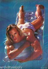LOT OF 2 POSTERS: SWIM - SEXY MALE MODEL - FREE SHIPPING     #3144      LP56 R