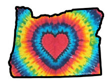 Oregon Tie Dye  (Bumper Sticker)