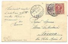 Italy  Picture Post Card To Vovara, Italy  Succesfully Franked By Revenue  1919