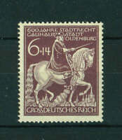 Germany 1945 600th Anniversary of Oldenburg stamp. Mint. Sg 895