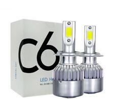 Kit H4 Ampoule LED 6000K COB 72W Pour Feux Auto et Moto 7200 Lumens 12V