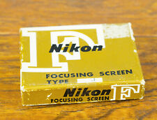 Nikon F Focusing Screen Type J for F F2 F2SB F2AS w/box!