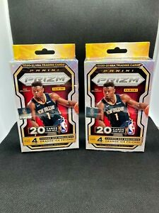 (2) 2020-21 Panini PRIZM Basketball HANGER Box LOT *BRAND NEW-SEALED* Lamelo RC