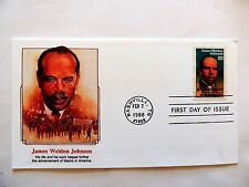 "February 2nd, 1988 ""James Weldon Johnson"" First Day Issue"