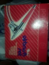 PAASCHE AIRBRUSH SET PAINTING