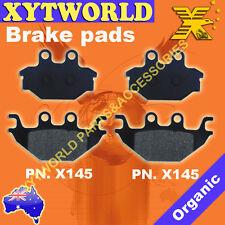 FRONT Brake Pads SYM Trackrunner 200 Quad 2005 2006 2007 2008 2009
