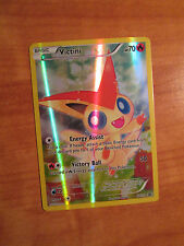 EX FULL ART Pokemon Mythical VICTINI Card Black Star PROMO XY117 Collection Box