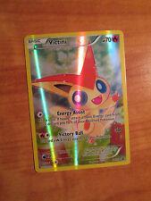 PL FULL ART Pokemon Mythical VICTINI Card BLACK STAR PROMO XY117 HOLO Box PLAYED