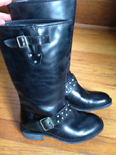 Fly London 5.5-6  (36) Women's Black Leather Boots