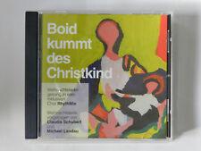 CD Boid kummt des Christkind Weihnachtslieder Chor RhythMix Schubert Retz