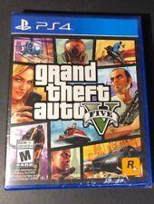 Grand Theft Auto V [ GTA V / GTA 5 W/ GTA Online ] (PS4) NEW