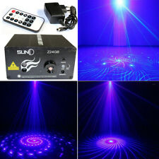 SUNY 3 Lens LED Laser Light GB 24 Gobos Projector DJ Home Decor Party Lighting