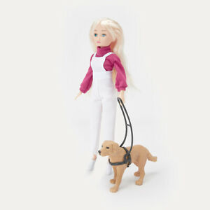 Lacey and Guide Dog for Kids to play with fashionable doll with a guide Dog AU