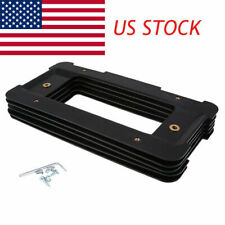 Car Rear License Plate Bracket Cap Case Screws for BMW 3//5//1//2//4//6//Z Series X5//6