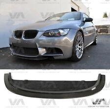 BMW M3 E90 E92 E93 CRT CARBON FIBER FRONT BUMPER LIP SPOILER SPLITTER
