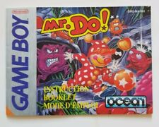 Mr. Do! - INSTRUCTION BOOKLET ONLY!  | Gameboy  | Low-Cost Shipping | ORIGINAL