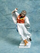 VINTAGE Herend Porcelain Figurine Hungary Man Peasant Dancer Handpainted