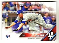 2016 Topps Update US279 COREY SEAGER RC Rookie Los Angeles Dodgers QTY AVAILABLE