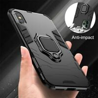 Shockproof Armor Case Ring Stand Cover For iPhone X XS XR 8 7 6 Plus 11 Pro Max