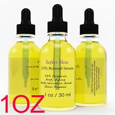 PURE RETINOL VITAMIN A 2.5% Anti Aging Wrinkle Acne Facial Face Serum Cream