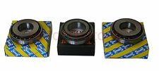 3 Pieces OEM Timken and SNR M32/M20 Alfa Fiat Vauxhall Tapered Roller Bearings