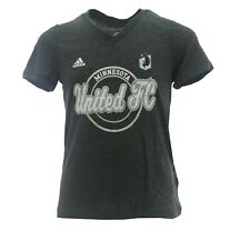 Minnesota United FC Official MLS Adidas Kids Youth Girls Size T-Shirt New Tags