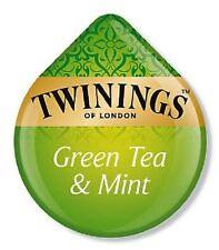 8 x Tassimo Twinings Green Tea & Mint Tea T Discs Pods Sold Loose - 8 Drinks