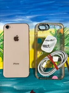 Apple iPhone 8 - 256Gb. Gold colour- Unlocked. Good working