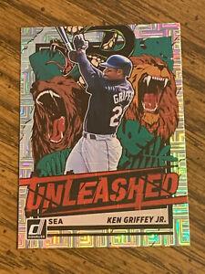 2021 Donruss #UNL16 Ken Griffey Jr. UNLEASHED - Mariners - Nice Card!