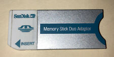 SanDisk Memory Stick Duo adapter ( Msac-M2 ) for Pro Duo