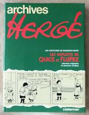Archives HERGE T 2 Cet aimable M. Mops Les exploits de Quick et Flupke Casterman