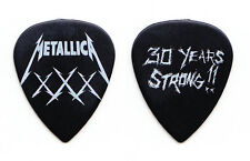Metallica Fillmore 30 Years Strong!! Black XXX Guitar Pick #2 - 2011 Tour