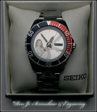 Hand Engraved Nude Seiko Diver's Men's Automatic Watch SNZF15 Ron Jr. Engraving