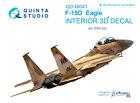 Quinta QD48041 1/48 F-15D 3D-Printed  coloured interior for GWH kit