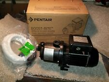 Pentair La-Ms05 Boost Rite 1.1 Hp Booster and Pressure Side Cleaner Pool Pump