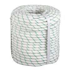 "3/7""x150' Double Braid Polyester Rope Sling 5900Lbs BREAKING STRENGTH Heavy Duty"