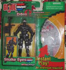 GI Joe vs Cobra A real American Hero Snake Eyes Spy troops Mission Disc PC Game