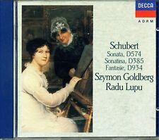 GOLDBERG Radu LUPU SCHUBERT Sonata & Sonatina W. Germany FULL SILVER NO IFP